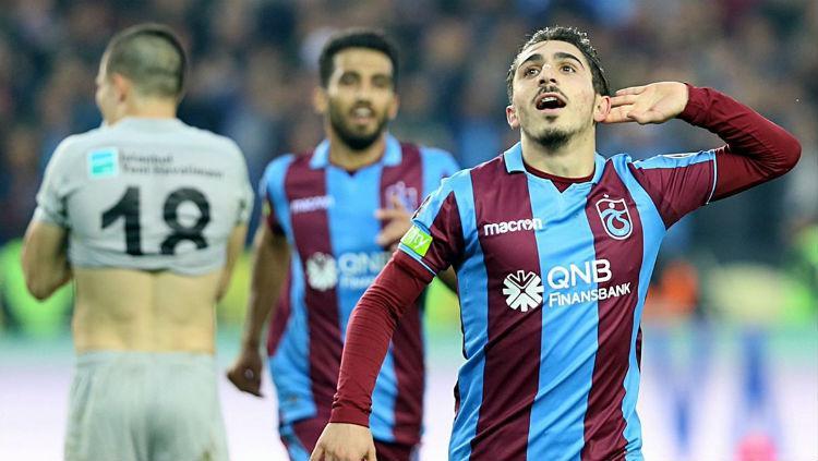 Wonderkid Trabzonspor Abdulkadir Omur. Copyright: aksam.com.tr