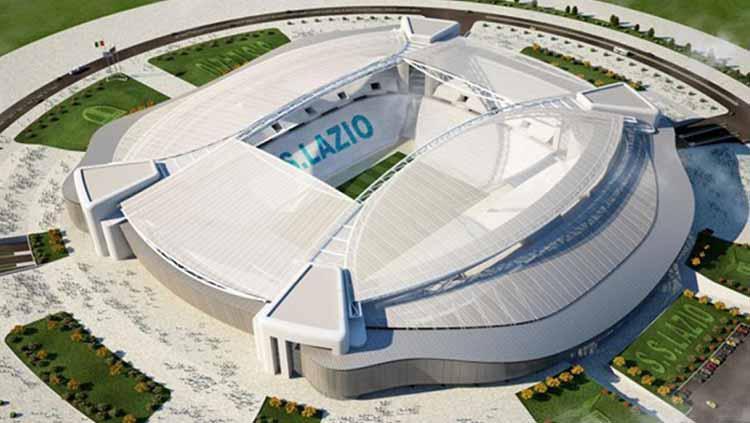 Stadion Olimpico markas Lazio Copyright: Polisportiva Lazio