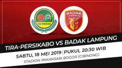 Indosport - TIRA Persikbao vs Badak Lampung FC
