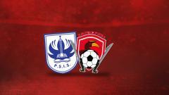 Indosport - Laga PSIS Semarang vs Kalteng Putra