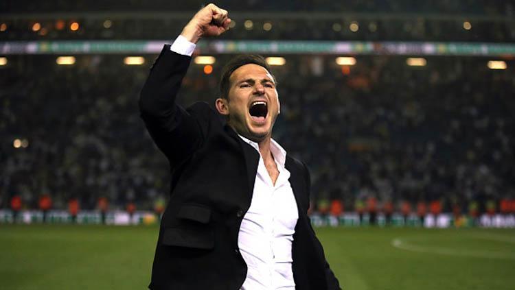 Frank Lampard, legenda Chelsea yang kini jadi pelatih Derby County. Copyright: Nick Potts/GettyImages