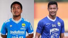 Indosport - Billy Keraf dan Syukur Fisabilillah, dua pemain Persib Bandung yang dipinjamkan ke Badak Lampung FC.