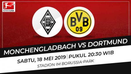 Prediksi Borussia Monchengladbach vs Borussia Dortmund. - INDOSPORT
