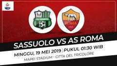 Indosport - Prediksi Sassuolo vs AS Roma