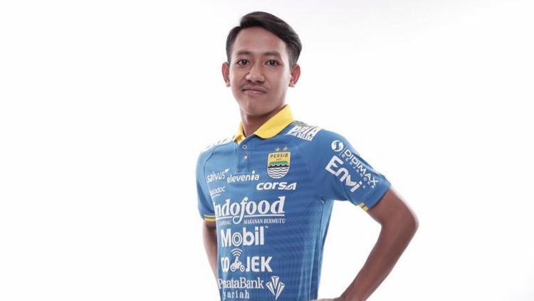 Beckham Putra mengenakan jersey anyar Persib Copyright: https://www.instagram.com/beckhamputran/