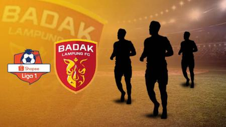 Ilsutrasi Perseru Badak Lampung FC, tim penampung pemain buangan Liga 1. - INDOSPORT