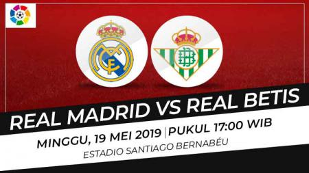 Prediksi Real Madrid vs Real Betis - INDOSPORT