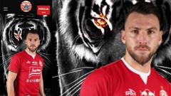 Indosport - Jersey baru Persija Jakarta yang akan di gunakan pada laga Piala AFC