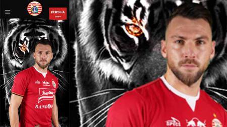 Jersey baru Persija Jakarta yang akan di gunakan pada laga Piala AFC - INDOSPORT