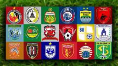Indosport - Klub Peserta Liga 1 2019.
