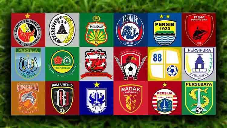 Klub Peserta Liga 1 2019 Copyright: Eli Suhaeli/INDOSPORT
