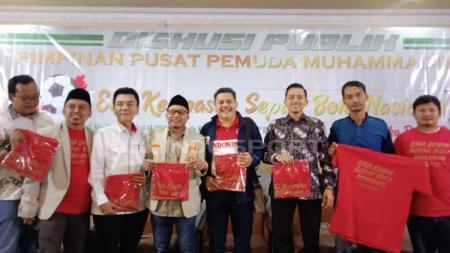 Potret narasumber diskusi publik PP Pemuda Muhammadiyah. - INDOSPORT