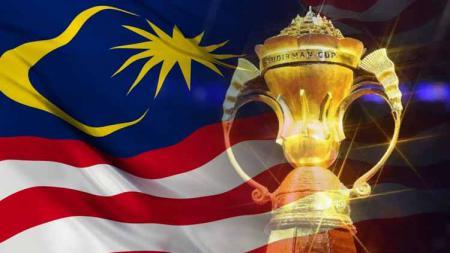 Piala Sudirman dan bendera Malaysia - INDOSPORT