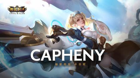 Capheny, hero baru games eSports Arena of Valor - INDOSPORT