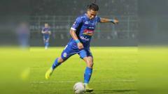 Indosport - Ahmad Nur Hardianto, pemain Arema FC.