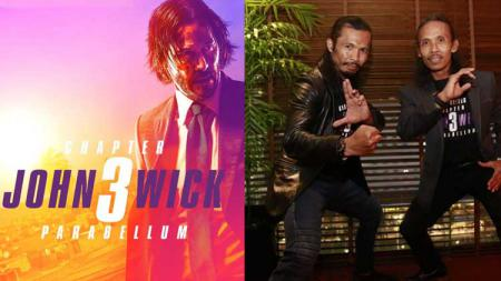Yayan Ruhian dan Cecep Arif Rahman ambil bagian di film John Wick 3: Parabellum - INDOSPORT