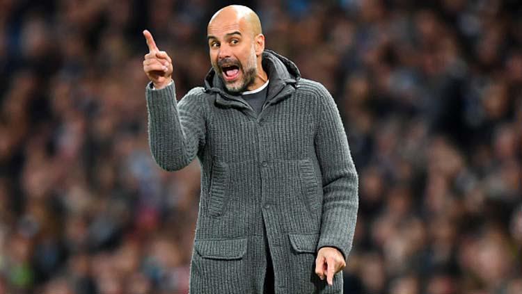 Pep Guardiola, pelatih Manchester City. Copyright: Michael Regan/GettyImages