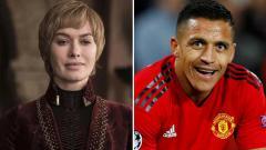 Indosport - Cercei Lannister dan Alexis Sanchez