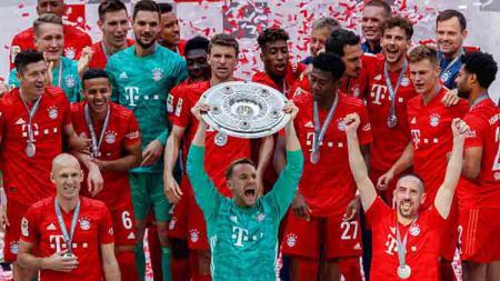 Bayern Munchen juara Bundesliga 2018-19. - INDOSPORT
