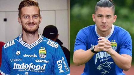 Dengan penampilan debut Rene Mihelic di Liga 1 2019, Kim Kurniawan bisa tergeser dari skuat Persib Bandung. Foto: bolasport/bola.net - INDOSPORT