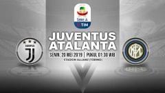 Indosport - Pertandingan Juventus vs Atalanta. Grafis: Yanto/Indosport.com
