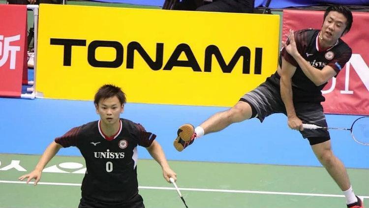 Hiroyuki Endo/Yuta Watanabe, pemain ganda putra Jepang. Copyright: Instagram/Yuta Watanabe