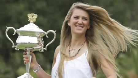 Victoria Azarenka sempat mengira karier tenisnya akan berakhir setelah melahirkan. - INDOSPORT