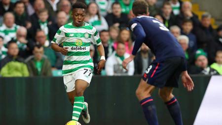 Karamoko Dembele menjadi aset berharga bagi tim sepak bola Glasgow Celtic berkat talenta bermainnya yang luar biasa. Ian MacNicol/Getty Images. - INDOSPORT