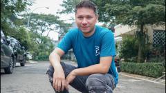 Indosport - Gading Marten, aktor kawakan Indonesia.