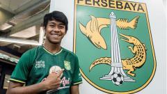 Indosport - Pemain baru Persebaya, Supriadi.