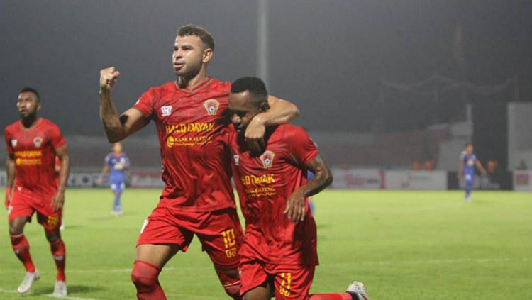 Diogo Campos, pemain asing Kalteng Putra yang Liga 1 2019 pekan ke-2 bermain sangat bagus saat kontra Persebaya Surabaya, Selasa (21/05/19) kemarin malam. (Foto: instagram.com/kaltengputra_id) Copyright: instagram.com/kaltengputra_id