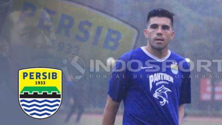 Fabiano Beltrame logo Persib Bandung, dan Liga 2. - INDOSPORT