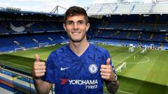 Indosport - Christian Pulisic bakal potong masa liburannya agar dapat bergabung dengan rekan barunya di Chelsea untuk pra musim