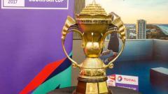 Indosport - Trofi Piala Sudirman. Foto: BWF