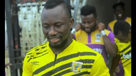 Bintang Piala Dunia asal Ghana, Sadick Adams, yang kini terlupakan. - INDOSPORT