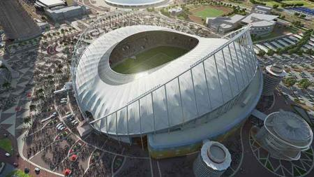 Stadion Internasional Khalifa, Qatar, untuk Piala Dunia 2022. - INDOSPORT