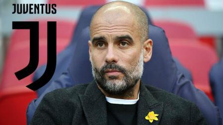 Pep Guardiola semakin dikaitkan ke Juventus. - INDOSPORT