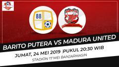 Indosport - Prediksi Barito Putera vs Madura United