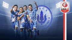Indosport - Profil Tim PS CS Cilacap Liga 2. Grafis: Tim/Indosport.com