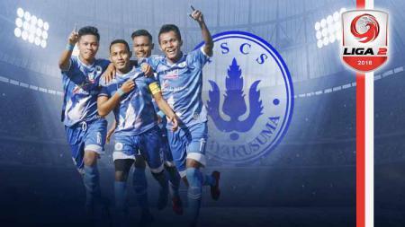 Profil Tim PS CS Cilacap Liga 2. Grafis: Tim/Indosport.com - INDOSPORT