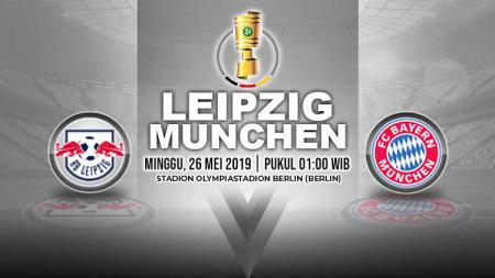 Pertandingan Leipzig vs Bayern Munchen. Grafis: Yanto/Indosport.com - INDOSPORT