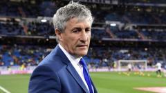 Indosport - Mantan pelatih Real Betis Quique Setien.