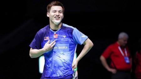 Pernah mengalahkan Mohammad Ahsan/Hendra Setiawan, pebulutangkis ganda putra Malaysia Teo Ee Yi akui resah soal Denmark Open. - INDOSPORT