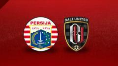 Indosport - Persija Jakarta vs Bali United.