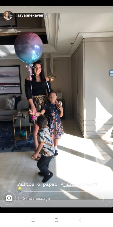 Rayanne, istri Jaimerson da Silva Xavier Copyright: instagram.com/_rayannexavier