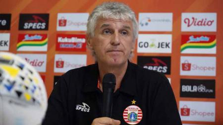 Mantan Pelatih Persija Jakarta Jakarta, Ivan Kolev. Foto: Media Persija - INDOSPORT