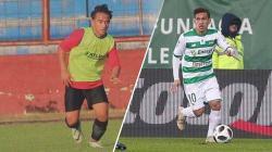 Dua pesepakbola muda Indonesia, Rafid Habibie dan Egy Maulana Vikri
