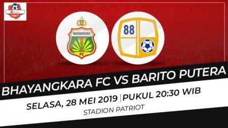 Link Live Streaming Pertandingan Liga 1 2019: Bhayangkara FC vs Barito Putera - INDOSPORT