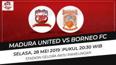 Indosport - Prediksi Madura United vs Borneo FC.