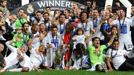 Real Madrid Juara Liga Champions 2014 - INDOSPORT